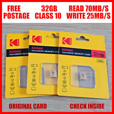 AData 32GB Micro SD Card 32G Class 10 TF Memory Card with SD Adapter