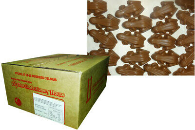Choc Frogs (230 pieces - approx 5kg bulk box)