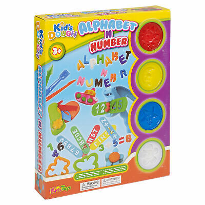 NEXT DAY DELIVERY! - Play Dough/ Doh Alphabet & Number Set 23pc