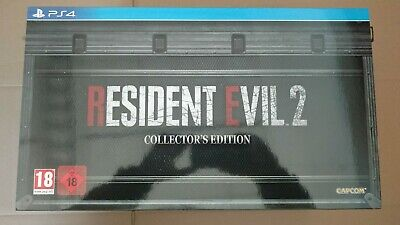 Resident Evil 2 Collector Ps4 New Neuf