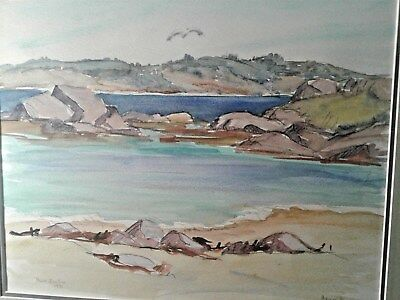 Canadian Artist Original Nova Scotia Watercolor Artist Agnes Knox