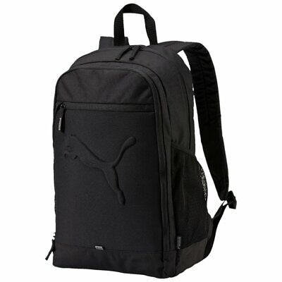 PUMA BUZZ SPORTS Laptop Backpack Rucksack Bag Black Unisex Travel ... cdaad73bd33d5