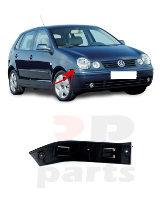For Vw Polo (9N) 2001 - 2005 New Front Bumper Holder Bracket Right O/S