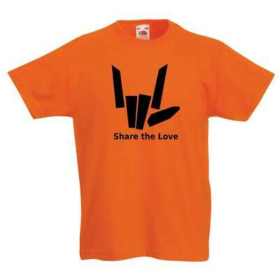 Share The Love Fun Child's Youth YouTube Inspired T-Shirt