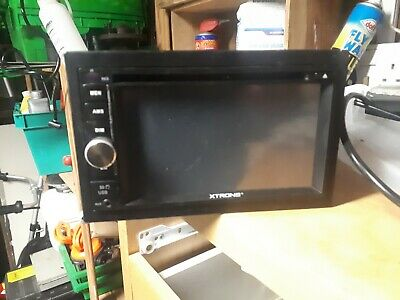 Xtrons Double Din Radio Cd With Usd Aux