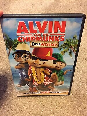 alvin and the chipmunks chipwrecked dvd like new 7 99 picclick