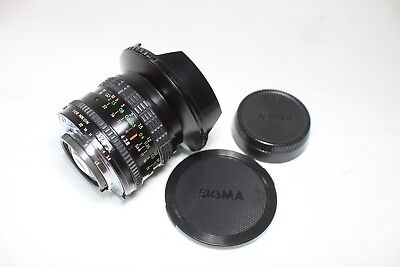 Sigma Ultra Wide 18mm F/2.8 MF Lens Multi Coated for Nikon Ai-S Made In Japan