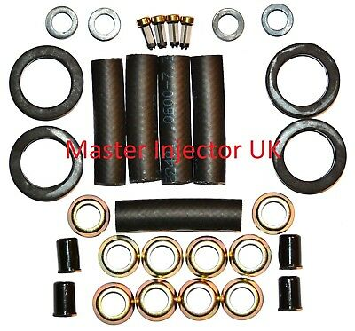 0280150708 Fiat Uno Turbo MK 1 Fuel Injector Service Kit 4 Cylinders - Kit 129