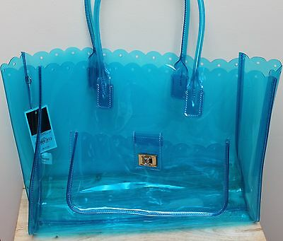 JUICY COUTURE TOTE BEACH TRAVEL Bag...NWT..very Roomy~practical~over ... e89920031