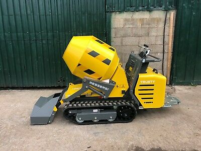 New Messersi Tracked Mobile Mixer - Self loading - Concrete Track Cement Dumper
