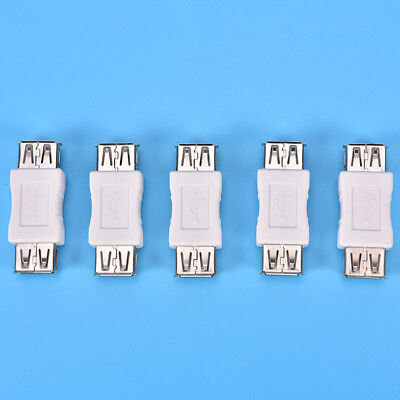 USB 2.0 Type A Female to Female Adapter Coupler Gender Changer Connector HICA