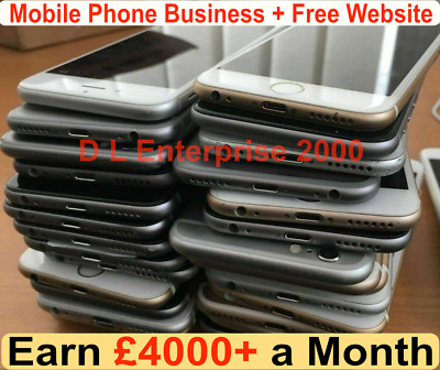 Mobile Phone Sales & Repair Business For Sale| £4000+ Per Month + Free Website