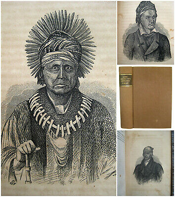 AMONG WILD INDIANS 1857 Wyandot Huron Sandusky Ohio Kentucky Indiana Michigan