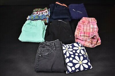 Lot of 8 Girls' Size 8 Mixed Pants Jeans Shorts Leggings All Seasons Gap Kids