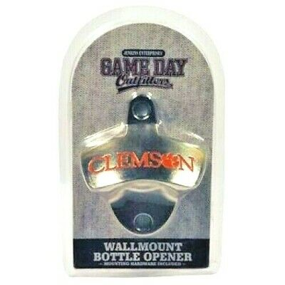 Clemson Tigers Wall Mount Bottle Opener Hardware Included Kitchen Man Cave Bar