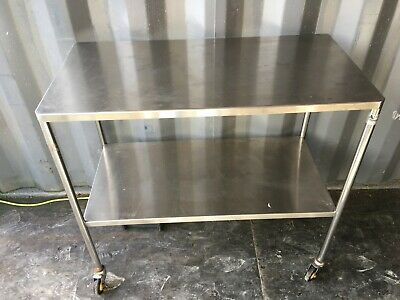 Anetic Aid 2 Tier stainless steel  medical/ hospital trolley