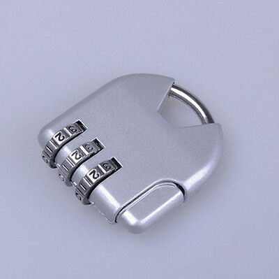 Useful 3-dial Combination Lock Luggage Travel Padlock YF FD