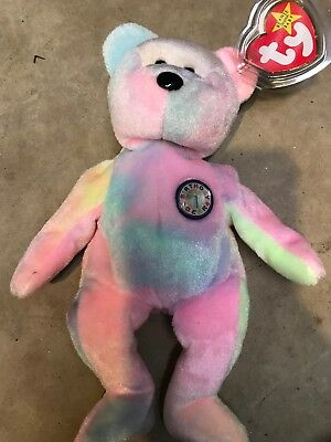 a07ab97dcc2 TY Beanie Baby - BB BIRTHDAY Bear (8.5 inch) - MWMTs Stuffed Animal Toy
