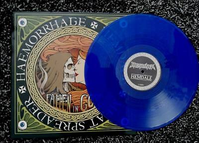 Haemorrhage / Hemdale / Meat Spreader Split Lp (BLUE)  Grind Death LTD 166 !!!!
