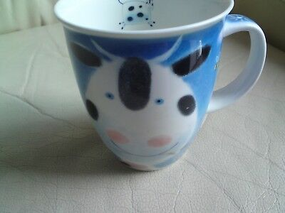 Large Dunoon - Fine Stoneware Mug - Animal Farm By Rob Hefferan,cows, Used,