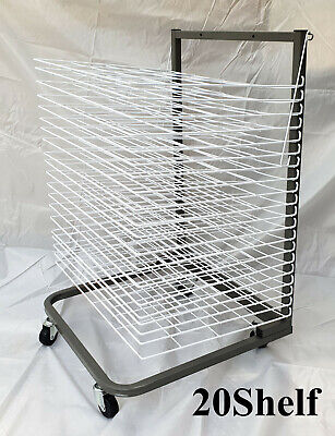 Paint Drying Rack Artwork Art Drying Rack,  20 Level A2  or 25 Level A3 ,