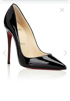 956f1a8d208 CHRISTIAN LOUBOUTIN 'SO Kate' Patent Leather Black Size 36.5Uk/6Us
