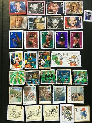British/GB Commemorative Stamps Franked On Backing 'KIDS THEMES' (44)