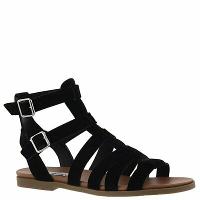 f73851551c8a WOMENS SHOES STEVE Madden WALKITT Gladiator Sandal Lace Up Suede ...