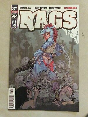 Rags #3 Exposed Variant Nm Sold Out Hot (2019) Antarctic Press Comics 1St Print
