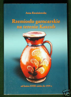 BOOK Polish Folk Ceramics Kaszuby old pottery POLAND art German traditional art