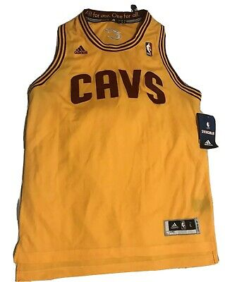 387fb330b Cleveland Cavaliers Blank Adidas Black Alternate Swingman Jersey Youth Large