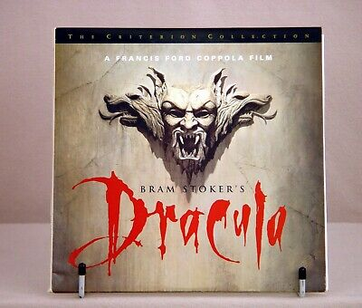 Bram Stokers Dracula (Laserdisc, 1993) Criterion Collection 3 disc set (2 sided)