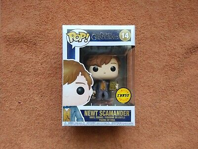 Funko Pop Newt Scamander ( Chase) Fantastic Beasts The Crimes of Grindelwald