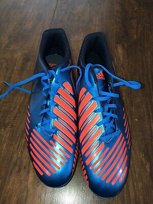 cdaa4fbab24 Adidas Predator Predito TRX FG soccer cleats. US Size 12. Blue and Orange