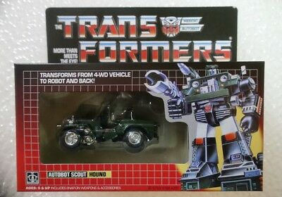 New arrivial TRANSFORMERS G1 Reissue Hound Gift Kids Toy Action Brand new