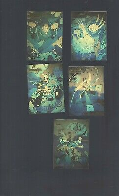 X Men Series 1 1992  Impel 100 Card Set Plus Hologram  Set XH1 thru XH5