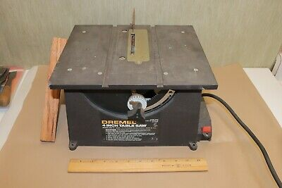 Older Dremel 580 2 Hobby Craft Table Saw With 90º Miter Gage