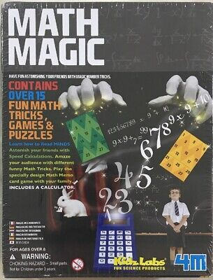 KIDZLABS MATH MAGIC - $15 00 | PicClick
