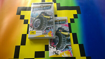 Sony Playstion Psp Motor Storm Arctic Edge Video Game Free Postage