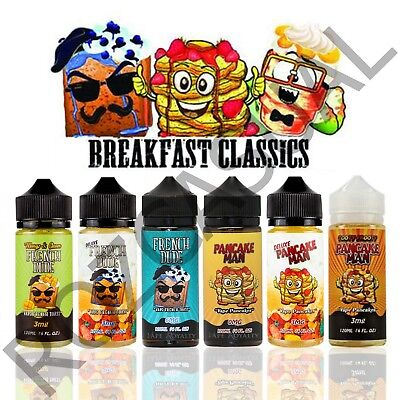 1Breakfast Classics (120mL) *ALL OPTIONS* 100% Authentic USA + Free Shipping