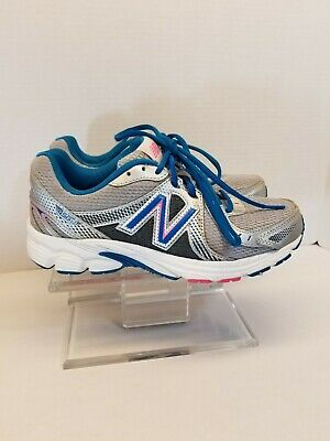 quality design 7a283 26062 NEW BALANCE Women s 450v3 W450SB3 GRAY SILVER BLUE PINK RUNNING SHOES Size 8