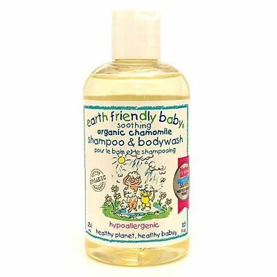 Earth Friendly Baby Soothing Chamomile Shampoo & Body Wash 250ml x 12 Pack