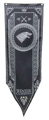 Game of Thrones House Stark Sigul Tournament Fabric Banner 19X60 Metal Grommets