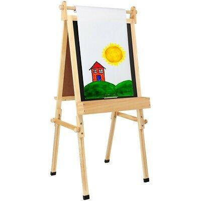 """Fundamental Children's Easel 36.5""""- 51"""" with Paper Roll Refill Option"""