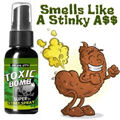Liquid Fart Spray Can ~ Stink Bomb Ass Smelly Stinky Gas Crap ~ gag prank joke