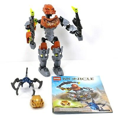 LEGO Bionicle Pohatu Master of Stone #70785 NEW 66 Pieces Blocks Toy Build