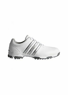 78ba622f7 ADIDAS 360 TRAXION Wide Fit Golf Shoes White Silver 6.5 - EUR 29