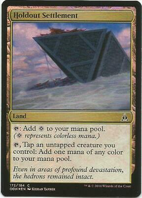 MTG: *HOLDOUT SETTLEMENT (FOIL)* - Oath of the Gatewatch - Magic the Gathering