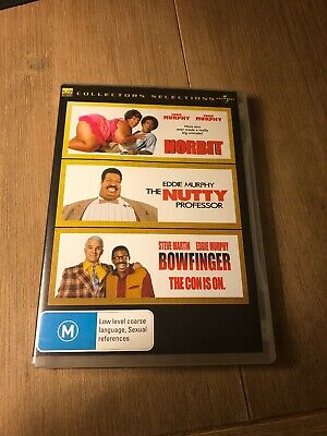 Collectors Selection DVD Norbit/The Nutty Professor/Bowfinger - Eddie Murphy