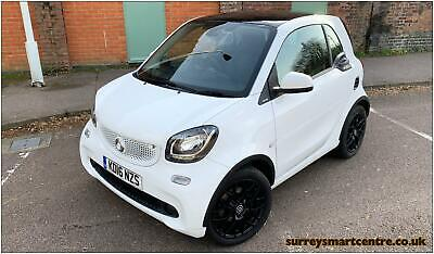 Smart Fortwo White Edition Coupe (2016)